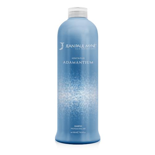 Adamantium Shampoo Jean Paul Mynè è un pregiato mix di sostanze organiche che si legano alla struttura cheratinica dei capelli in pochi semplici gesti
