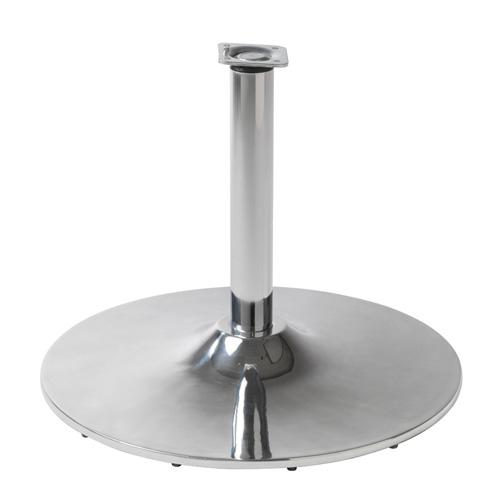 Base poltrona Stream Salonitaly per salone parrucchiere. Base a disco girevole in alluminio pressofuso lucidato.