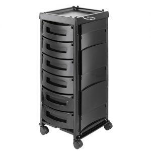 Carrello King Agv Group disponibile in 6 configurazioni di cassetti differenti. Disponibile su richiesta imballo salva-spazio con le parti che compongono il carrello non assemblate.