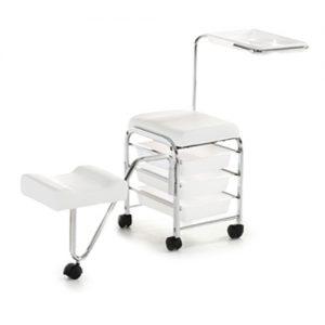Carrello Pedicure Service Xanitalia bianco