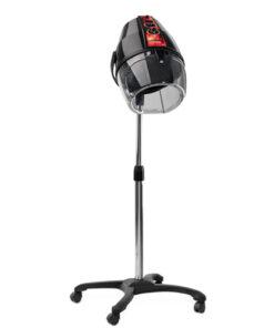 Casco asciugacapelli Acrobat AGV Group disponibile a 1, 2, 4 velocità di ventilazione o ad incremento progressivo (Mod.Linear), bianco o nero, con base o braccio a muro.