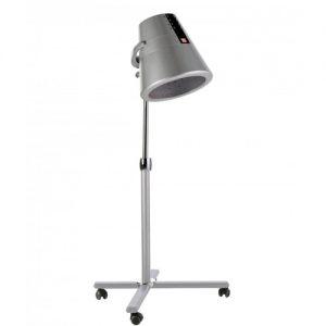 Casco asciugacapelli Hot Mug Uki disponibilie con base inclusa o modello da muro con braccio. Casco asciugacapelli a doppia campana, programmi di asciugatura selezionabili elettronicamente, funzione ionizzatore. V220-240; V110-130. Hz50/60 W1000Misure: H78 P62,6 L72 11 kg 0,16 m