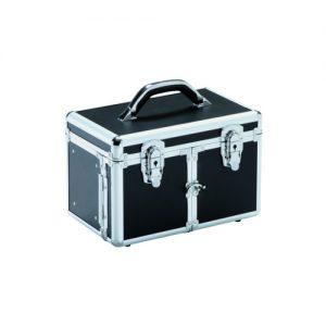 Valigia Medium Black Xanitalia dotata di specchio e chiusura con chiave.Misure: cm 29 x 19 x 20 h