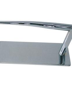 Poggiapiedi Korner AGV Group in metallo cromato