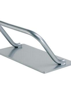 Poggiapiedi Modus AGV Group in metallo verniciato argento lucido