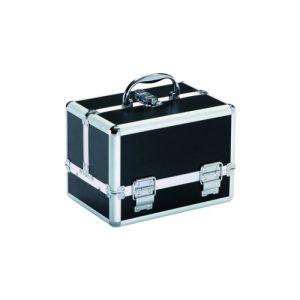 Valigia Small Black Xanitalia chiusura con chiave.Misure: cm 26 x 18 x 19 h