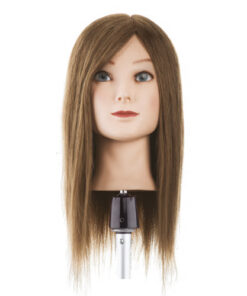 Testa studio capello medio lungo Xanitalia 100% capelli naturali umani, origine indiana. Lunghezza cm 40. Colore 6