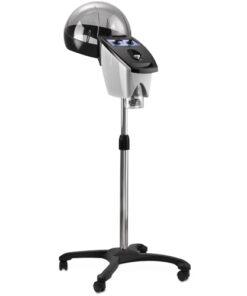 Vaporizzatore Atomix AGV Group a controllo analogico e campana extra large. Disponibile sia in versione da pavimento che con braccio a muro.
