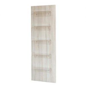 Mobile Espositore Venise Sibel colore chiaro disponibile per le vendite. Struttura in legno con 5 mensole di polyglass da 8 mm di spessore.