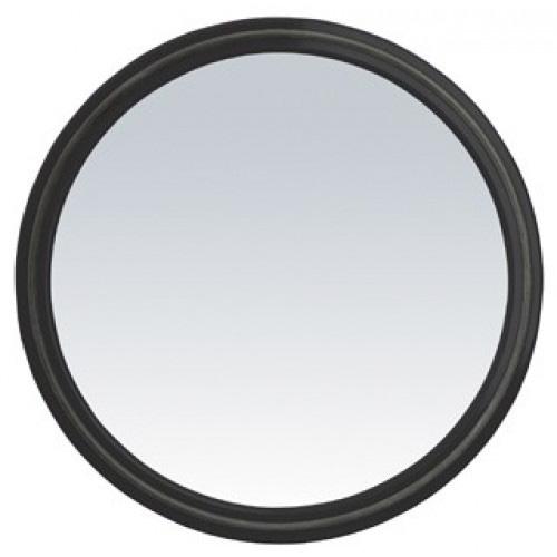 Magic Mirror specchio professionale salone Sibel. Specchio tondo con impugnatura. Questo specchio rotondo è munito di un bordino in caucciù. È possibile poggiare senza rumore lo specchio con il vetro verso il basso senza rischio di rottura o di graffi.