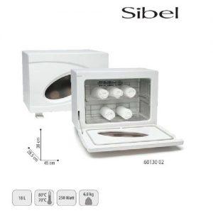 Scalda Asciugamani Sibel con lampada UV per raggi ultravioletti che assicurano una pulizia perfetta.