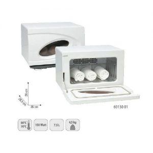 Scalda Asciugamani UV Piccolo Sibel con lampada UV per raggi ultravioletti che assicurano una pulizia perfetta.Formato esterno: 35x28,5x26 cmCapacità 7,5 l.