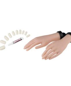 Modello Mani Per Scuola Sibel soft-touch per apprendere tecniche di manicure e massaggio delle mani.