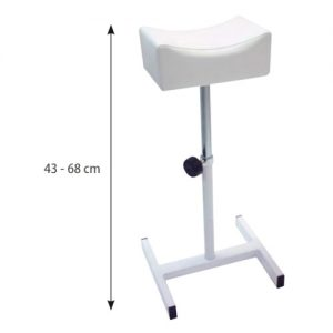Poggiapiede Pedicure Sibel è un poggiagambe portatile e regolabile in altezza per pedicure.