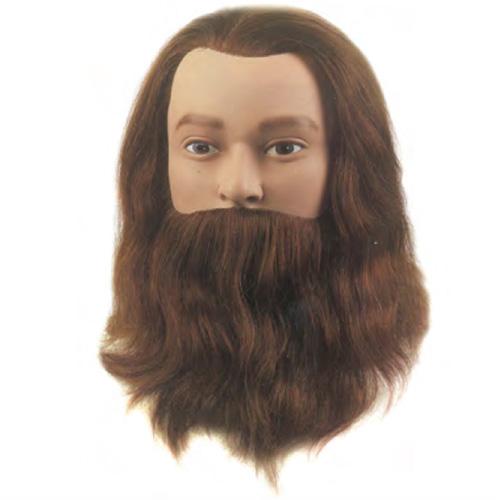 Testina Studio Lief Sibel 100% capelli umani. Impianto fine classic, densità super 230-260 capelli/cm2